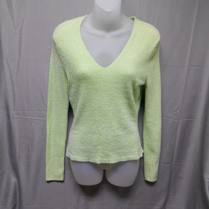 Lily Stanhope lime green sweater women's medium